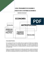 Escuelas Del Pensamiento Economico - Sistemas Economicos