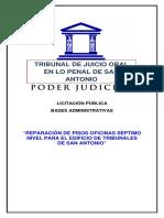 Bases Administrativas Reparación de Piso en Séptimo Piso