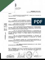 Decreto designación jefa de departamento en Inspección