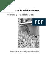 El origen de la musica cubana. Mitos y realidades.pdf