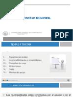 Mo´dulo Orga´nico Municipal Primer Nivel Concejo Municipal.pptx