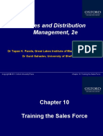 Training Sales Force