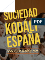 Kodály y España