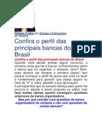 Confira o perfil das principais bancas de concurso - Estrategia Concursos.docx