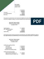 FINANCIAL STATEMENT MBA