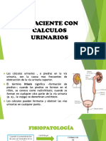 CALCULOS URINARIOS