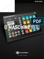 MASCHINE MIKRO MK2 Getting Started English 2 8