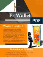 156116090 E Wallet Report