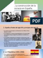 Tema 6 Construccion Democracia España
