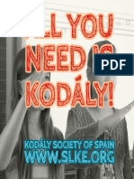 All You Need is Kodaly