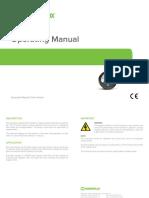 Disposable Field Indicator - Operating Manual - Jun18