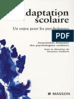 Adaptation scolaire. Un enjeu pour les psychologues (2007).pdf