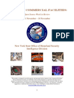 New York State Office of Homeland Security Eyes on Commercial Facilities 11 November - 18 November 2009