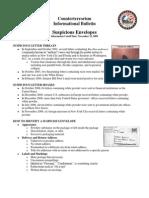 NYPD CTD Suspicious Envelopes 11-12-09