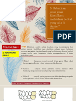 scal 4 klasifikasi maloklusi