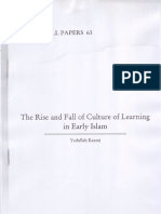YK the Rise&Fall of Culture of Learning