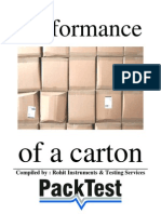 Performance of a Carton - A5 Simple
