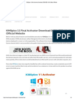 KMSpico 11 Final Activator Download (UPDATED 2019) Official Website