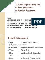 Satuan Acara Penyuluhan Penanganan dan Pencegahan Penyakit Panu (1).pptx