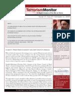 The Jamestown Foundation Terrorism Monitor Volume VII Issue 27