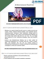 Leisure & Entertainment Email List.pptx