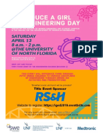 Introduce a Girl to Engineering Day 2019