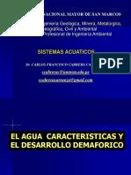 1.- SISTEMAS ACUATICOS. El Agua Caracteristicas. Ciclo Hidrologico (1)