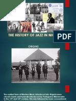 History of Nigerian Jazz