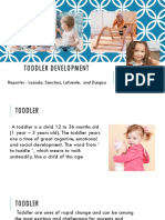 Child & Adolescence (Toddler Development)