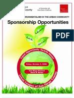 EOD Sponsor Packet