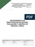 Sst-pr-01 Procedimiento de Iper Rev 3