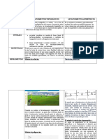 Cuadro Comparativo Levantamientos Topográficos y Altimétricos