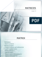 Matriks - (minggu 4-5)