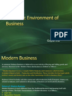 Business Environment - Share -1