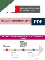 PROGRAMA-ALIMENTACION COMPLEMENTARIA MINSA