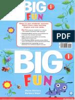 Portada Big Fun 1 Libro