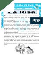 Ficha La Risa Para Cuarto de Primaria