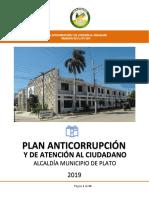 Plan Anticorrupción y de Atención al Ciudadano-Municipio de Plato-Año 2019.docx