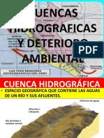 Capitulo 02 Cuenca Hidrográfica y Deterioro Ambiental