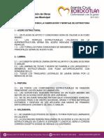 ESPECIFICACIONES PARA LA FABRICACIÓN Y MONTAJE DE ESTRUCTURA METALICA.docx
