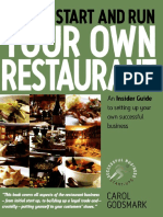 How To Start and Run Your Own Restaurant.pdf