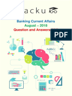 Banking Current Affairs August-2018