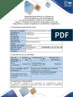 Guía de Actividades y Rúbrica de Evaluación - Tarea 2 - Fundamentos de Campo Magnetostático