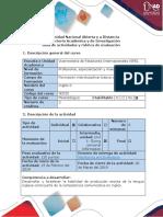 Guía de Actividades y Rúbrica de Evaluación. Task 2 - Writing Production (1)
