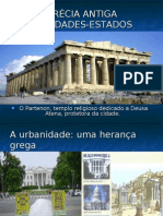 História Geral PPT - Grécia - Cidades-estados Gregas