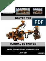 MANUAL DE PARTES BOLTER 7D_JB77-147_ZICSA CONTRATISTAS GENERALES S.A..pdf