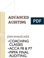 4243529 ADVANCED AUDITING