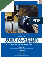 Manual Para la Instalación de Tubos de Hormigón y Prevención de Riesgos Laborales