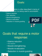 Electrical Stimulation Goals and Explanation