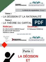 Décision Rationalité Capital Social
